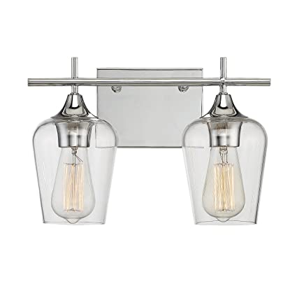 Savoy House Octave 2 Light Bath Bar 8 4030 2 11 In Polished