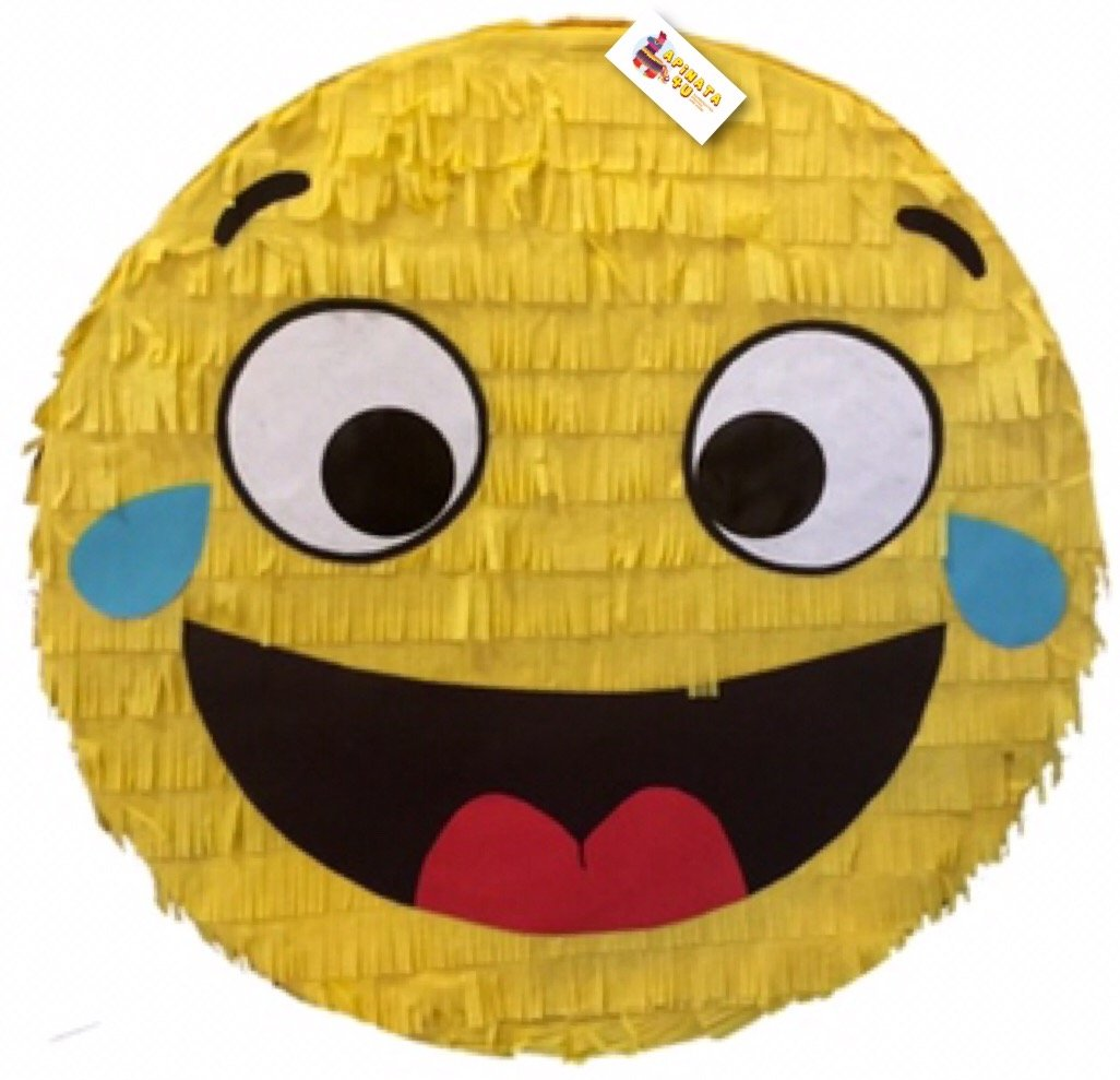 Laughing & Crying Emoticon Emoji Pinata