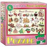 Eurographics Sweet Christmas Puzzle, 100-Piece