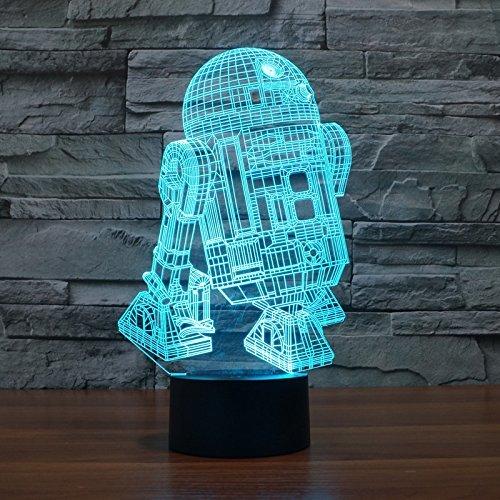R2D2 B 3D Illusion Lamp 24.2*14.7*8.8cm