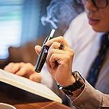 YoungME阳米 商务款男士专享低温烘烤电子烟 加热棒健康戒烟专用电子烟具 无烟油不含尼古丁成分专用烟具 适合iQos通用烟弹 YM-805 黑色