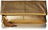 Badgley Mischka Blake Clutch, Gold