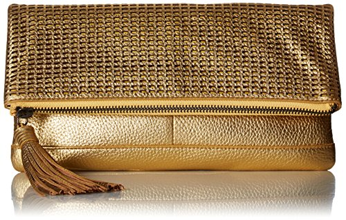 Badgley Mischka Blake Clutch, Gold by Badgley Mischka
