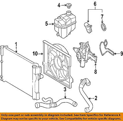 mercedes benz engine cooling diagram