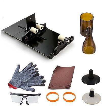 Botella de vino Kit de herramientas de corte, anzome Stained Kit de herramienta de corte