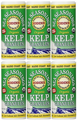 Maine Coast  Sea Seasonings Kelp Granules, 1.5-Ounce Units (Pack of 6)
