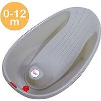 Tigex Baignoire Bébé Mini, Compacte et Ultra-Légère, 0-12 Mois, Base Antidérapante