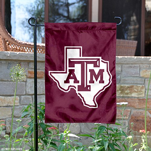 Texas A&M University Lone Star Garden Flag -