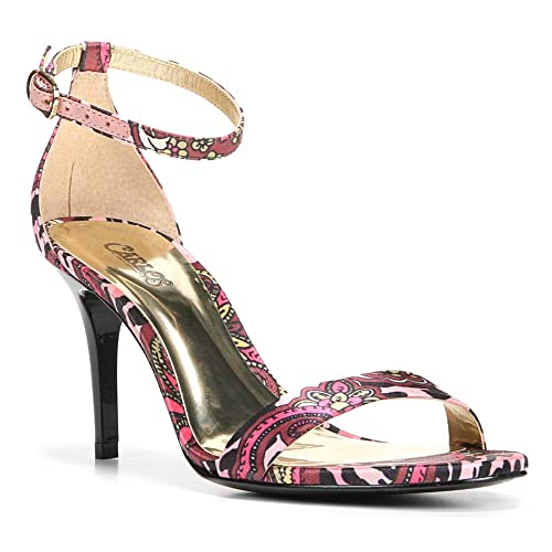 Carlos by Carlos Santana Women's Sunset Dress Sandal,Pink Multi,US ...