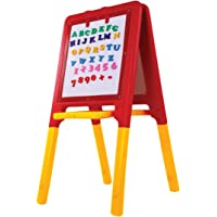 Playgro 2 Way Easel Board, Red/Yellow/Green