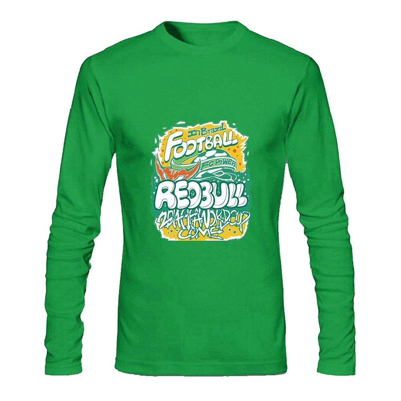 Men's FOOTBALL REDBULL Long Sleeve T-Shirt