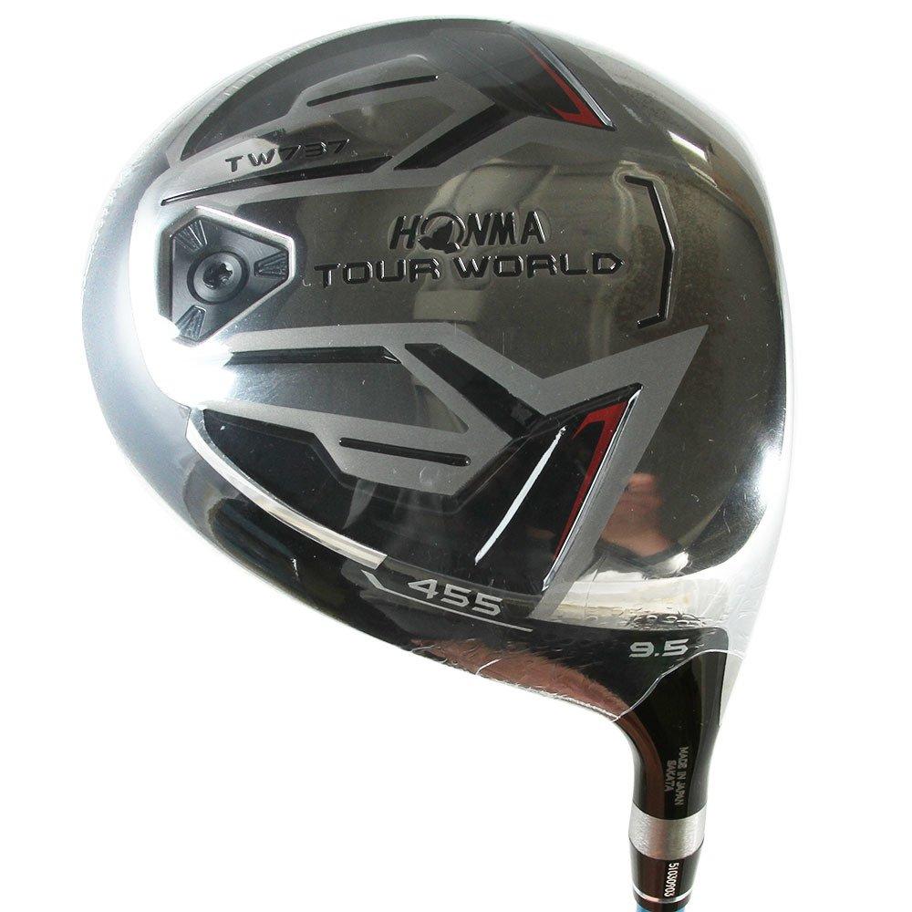 本間ゴルフ ドライバー TOUR WORLD ツアーワールド TW737 455 ドライバー 9.5度 VIZARD EX-Z 65シャフト フレックス:S TW737-455 右 ロフト角:9.5度 番手:1W B01MG2SGMQ