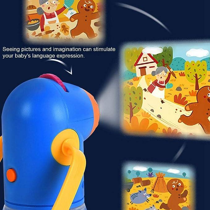 Proyector de cuentos infantiles con lente de zoom Lámpara de luces ...