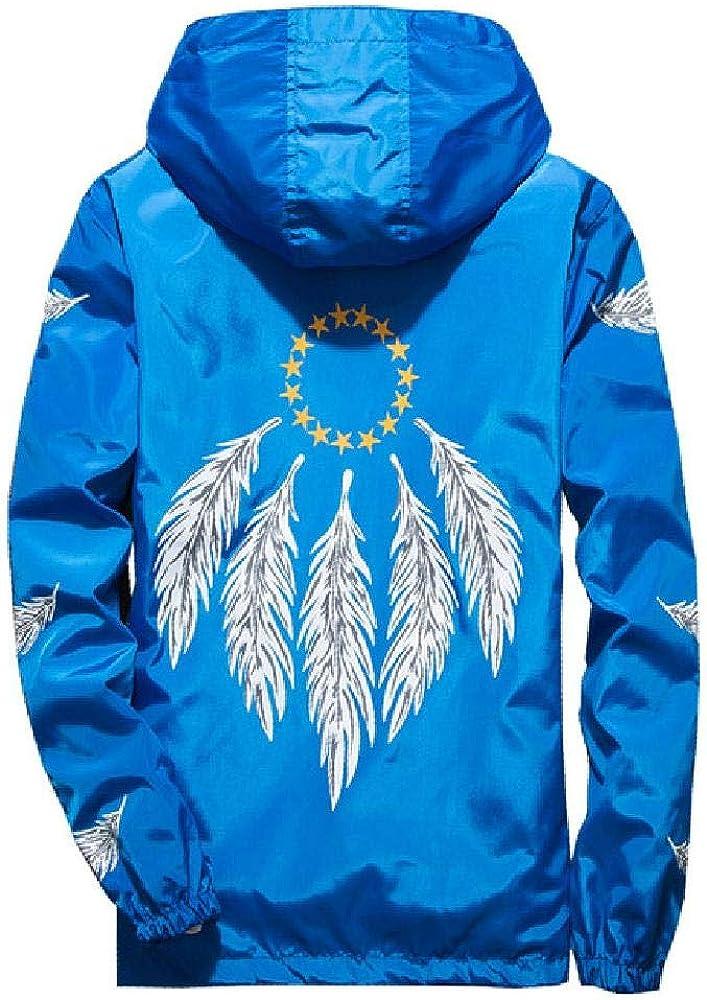 Chaqueta cortavientos con capucha para hombre joven, de primavera, otoño, delgada, impermeable, talla grande