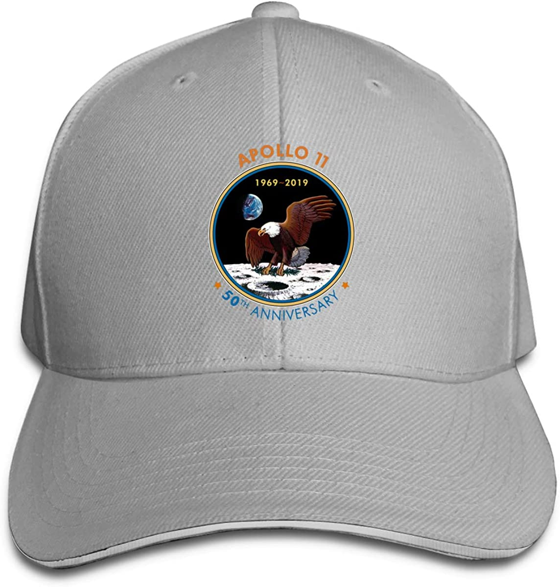 Apollo 11 50th Anniversary Unisex Twill Adjustable Sports Hat