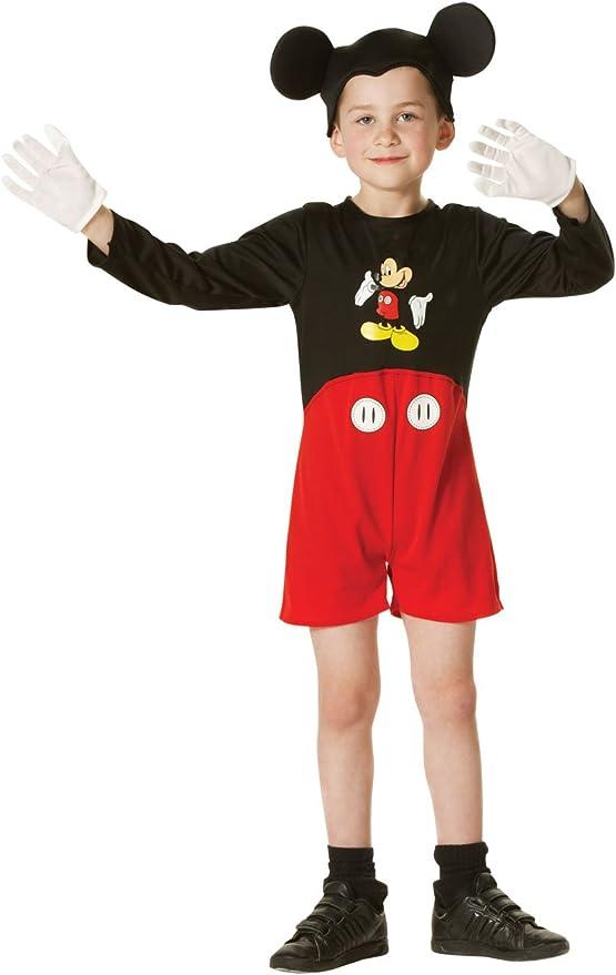 Disfraz Child Disney Mickey Mouse Costume: Amazon.es: Juguetes y ...