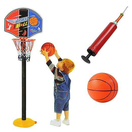 Kasfam Soporte de Baloncesto Ajustable, Juego de Baloncesto para ...