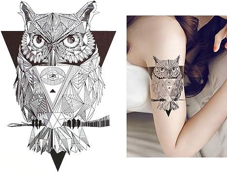grafisch Tattoo Line Tattoo búho Tattoo geométrico Tattoo hb454 ...