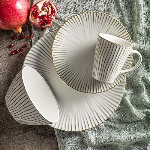 Portura White 16 Piece Dinnerware Set