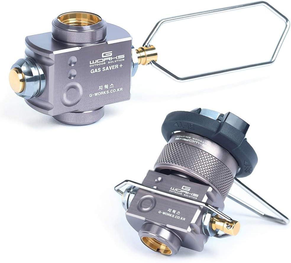 Gas Saver Plus Gas Convertor Shifter Refill Flat Tank Conversion Adapter T3D8