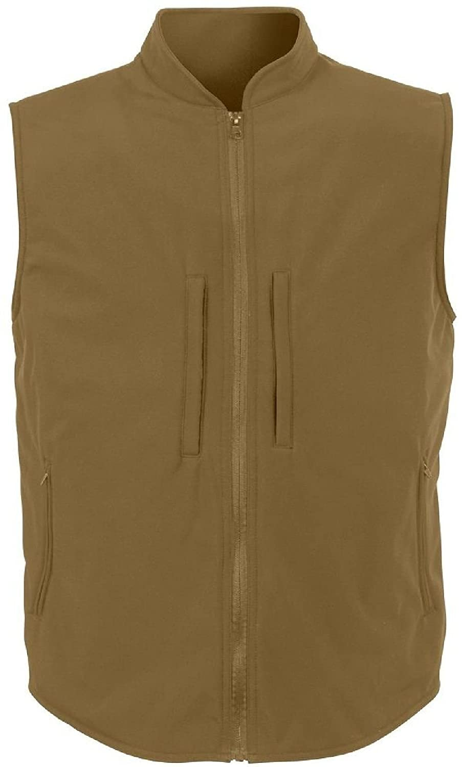 Amazon.com  Concealed Carry Vest Coyote Brown Soft Shell Tactical Vest   Clothing 7093e511aa5