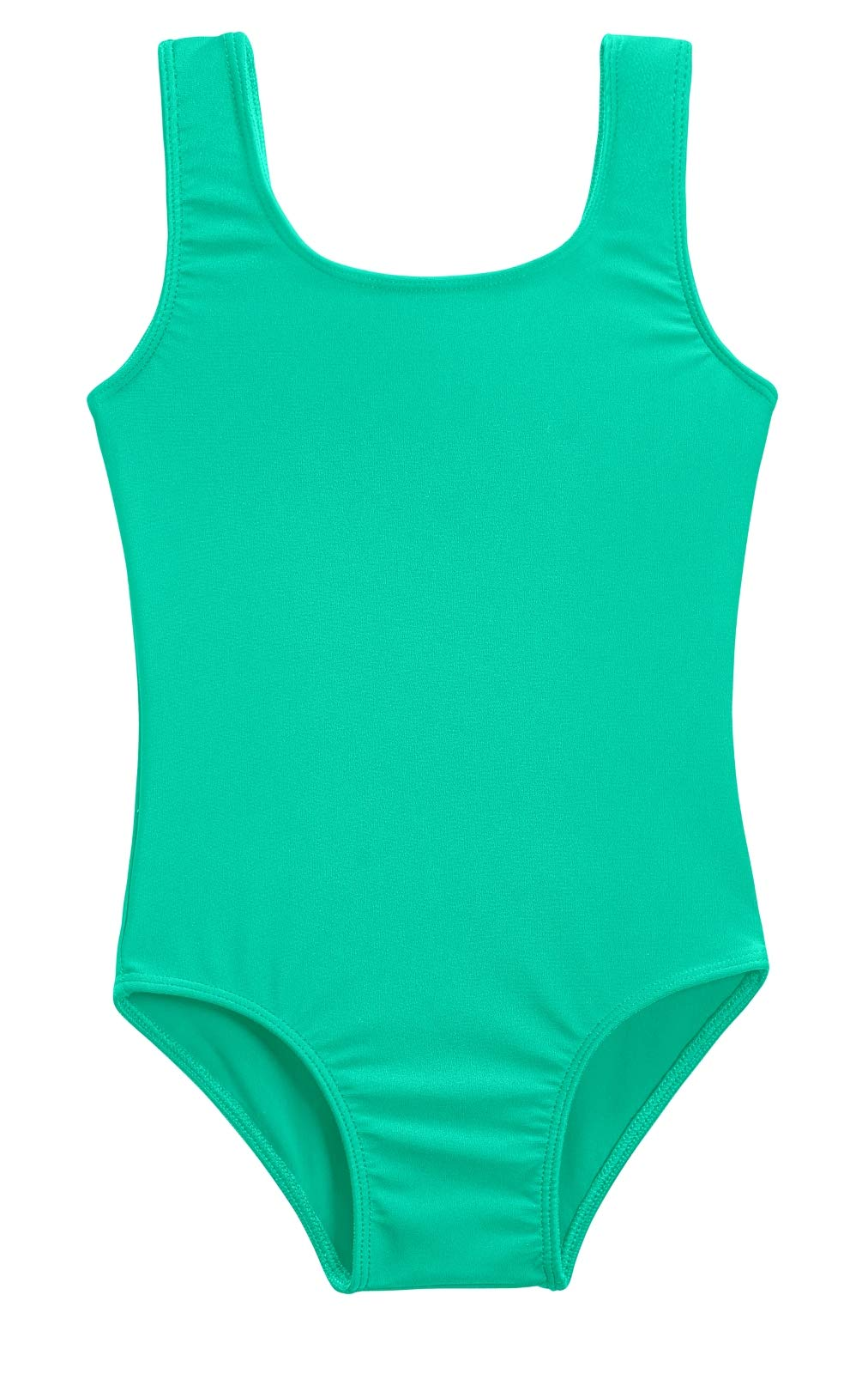 City Threads Girls' One Piece Swimming Suit with Sun Protection SPF for Beach Pool or Play Swim Suit Rash Guard Bottoms Briefs, Aqua, 2T