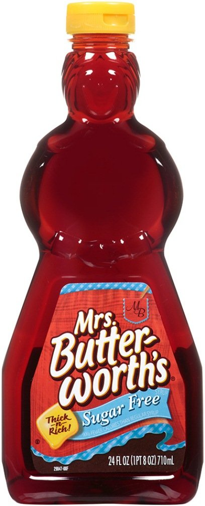 Mrs. Butterworth's Syrup, Sugar Free, 24 Oz