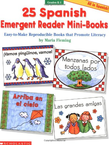 25 Spanish Emergent Reader Mini-books ()