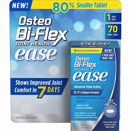 (Osteo Bi-Flex Ease Tablets (70 count)- 2 PACKS ( expire date is 02/2020 ))