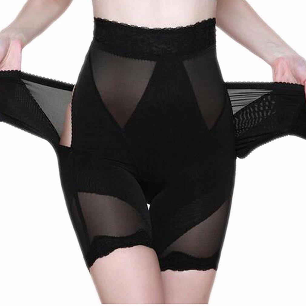 6d57c3488a29e AVENBER Women Body Shaper High Waist Lace Tummy Trimmer Control Butt Lift Shapewear  Panties at Amazon Women s Clothing store
