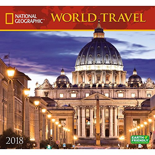 National Geographic World Travel 2018 Wall Calendar