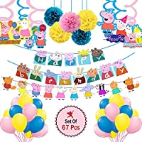 20% off peppa pig birthday party decoration set