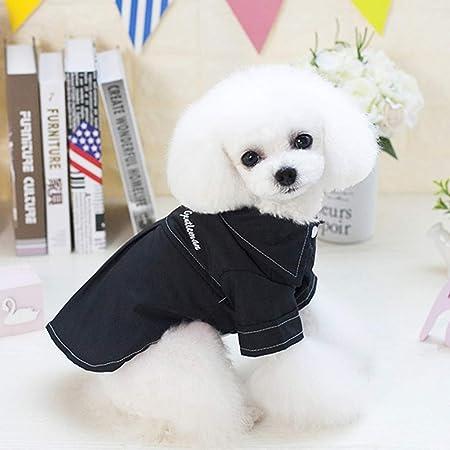 Gusspower-ropa mascotas,Camiseta Casual de Manga Corta para ...