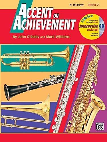 Trumpet B-flat Book Music - Accent on Achievement, Book 2: B Flat Trumpet