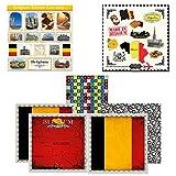 Scrapbook Customs Themed Paper & Stickers Scrapbook Kit, Belgium Sightseeing