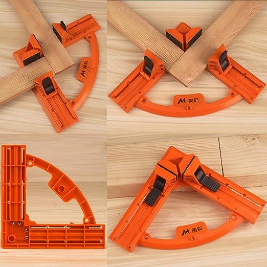 ZOOMY 90 /° Grado /Ángulo Recto Marco de Imagen Porta Abrazaderas de Esquina Portaherramientas Herramientas de carpinter/ía