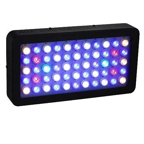 BLOOMWIN 55 * 3W Regulable LED luz Para Acuario para Plantas y Coral y Pescado 50000hrs