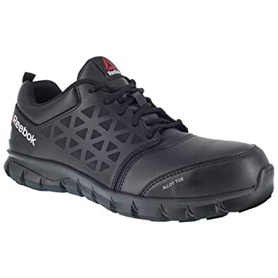 9246058213fae5 Reebok Men s Sublite Cushion Work Boot Alloy Toe Black ...