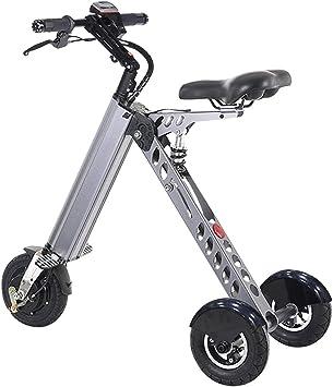 DK177 - Patinete eléctrico pequeño portátil para Bicicleta de Adulto con 3 Marchas, límite de Velocidad de 6 a 12 a 20 km/h (Disponible en 2 a 7 días): Amazon.es: Deportes y aire libre