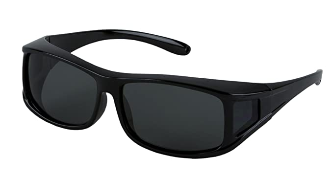 e9d58d5d17 Image Unavailable. Image not available for. Colour  LensCovers Sunglasses  Wear Over Prescription Glasses. Polarized Size Medium.
