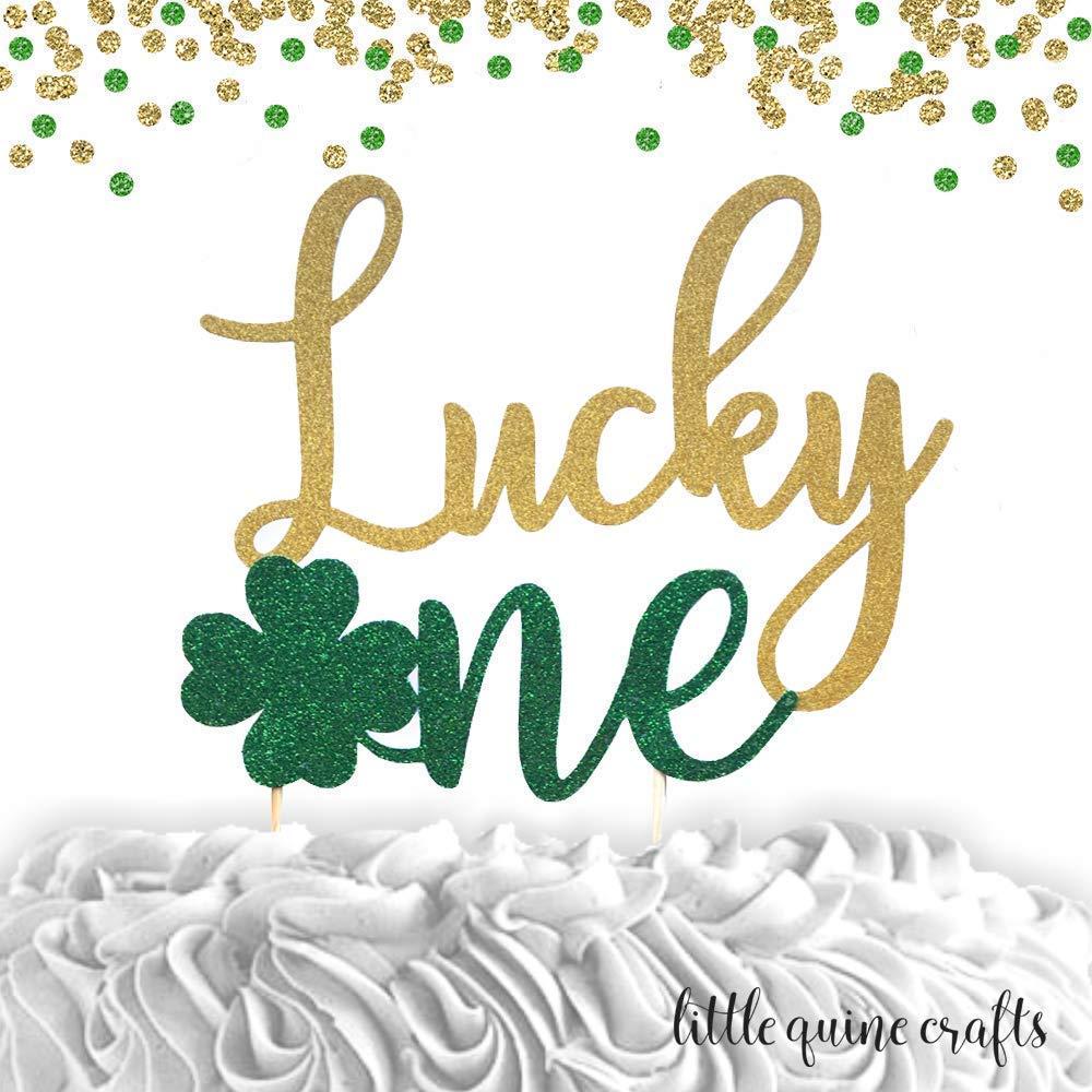 St Patrick\u2019s Day Birthday Crown, Lucky One Birthday Our Little Shamrock St Patrick\u2019s Day Rainbow 1st Birthday Crown Girls Shamrock