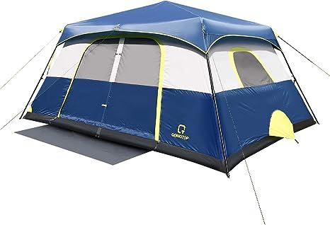 OT QOMOTOP Instant Cabin Tent (4/6/8/10 Person)