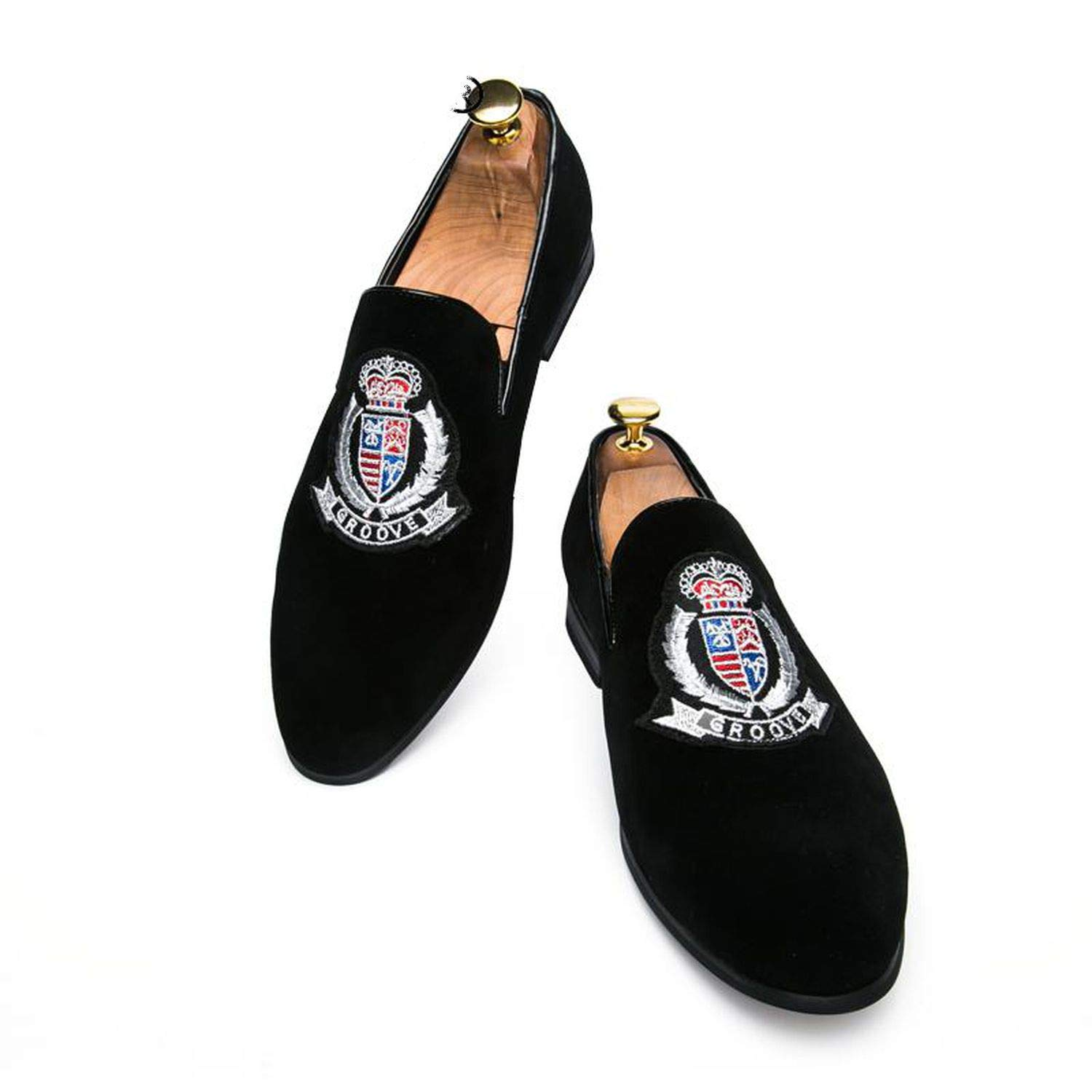 Amazon.com | Only Shopping Can Heal Me Loafers Men Breathable ...