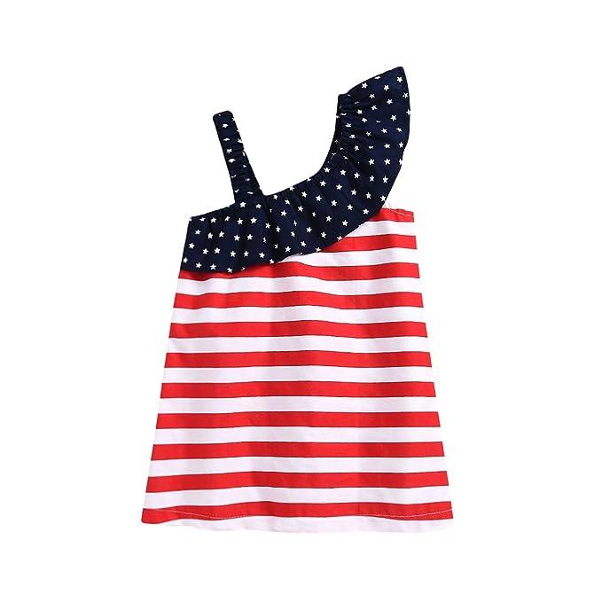 Amazon.com: Monbebe - Vestido para bebé de 4 de julio ...