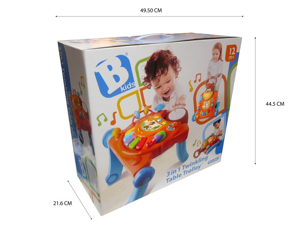 B Kids - Andador - Mesa de Juego (Blue Box 003993): Amazon.es ...