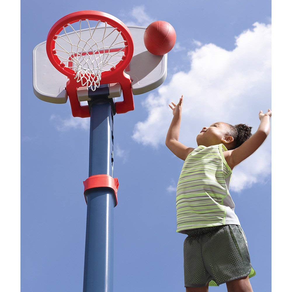 Renewed Step2  Shootin Hoops Pro Basketball Set