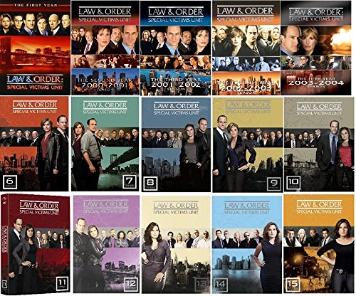 (Law & Order SVU Ultimate Collection Seasons 1-15)