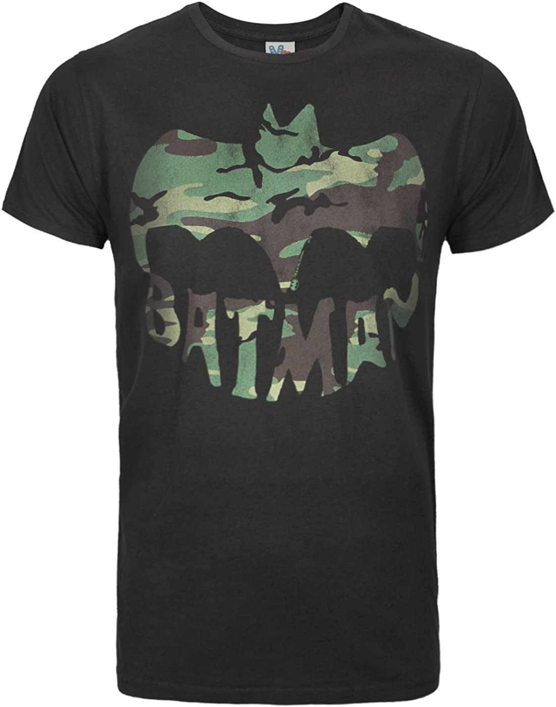 Junk Food Batman Camo Logo Men's T-Shirt