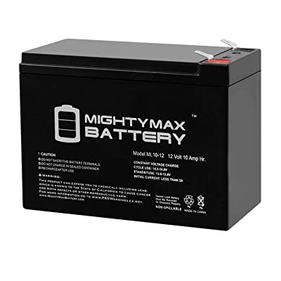 Mighty Max Battery ML10-12 - 12V 10AH iZip i-500 Scooter Battery Brand Product : Sports & Outdoors