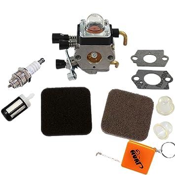Vergaser /& Luftfilter /& Zündkerze für Stihl FS75 FS80 FS85 HS75 HS80 HS85 KM85
